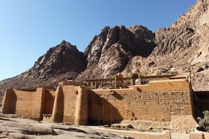エジプト世界遺産、聖カタリナ修道院の写真素材 [FYI00230749]