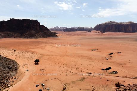 ワディラムの砂漠の写真素材 [FYI00230817]