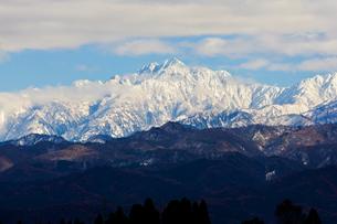 立山連峰、剱岳の写真素材 [FYI00230855]
