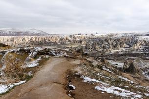 冬のカッパドキアの写真素材 [FYI00230887]