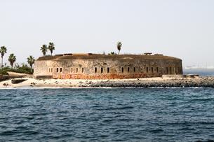 世界遺産ゴレ島、要塞跡の写真素材 [FYI00230927]