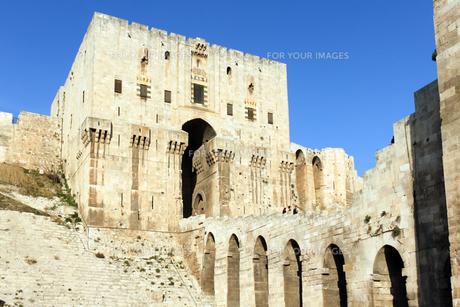 アレッポ城の写真素材 [FYI00230930]