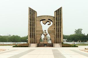 トーゴ共和国、独立記念の碑の写真素材 [FYI00230961]