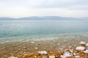 イスラエルから望む死海の写真素材 [FYI00231028]