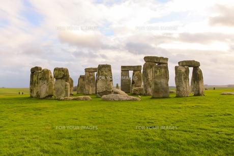 イギリス世界遺産 ストーンヘンジの写真素材 [FYI00231078]