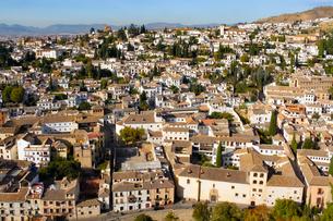 スペイン世界遺産、アルバイシン地区の写真素材 [FYI00231095]
