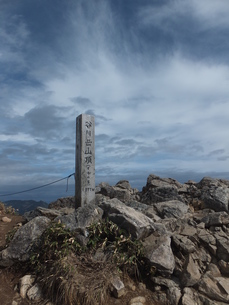 谷川岳山頂の写真素材 [FYI00231098]