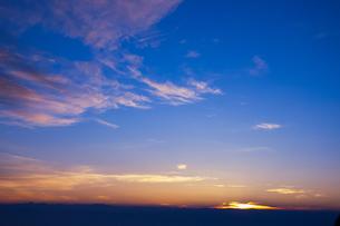 冨士からの朝焼けの写真素材 [FYI00231271]