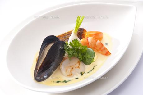 洋食の一品の写真素材 [FYI00231344]