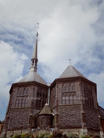 ふたごの教会の写真素材 [FYI00231390]