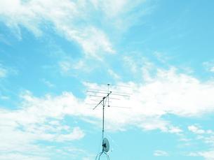 台風後の空の写真素材 [FYI00231411]
