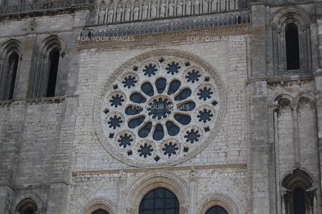 シャルトル大聖堂 フランスの写真素材 [FYI00231579]