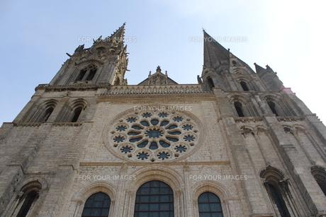 シャルトル大聖堂 フランスの写真素材 [FYI00231580]