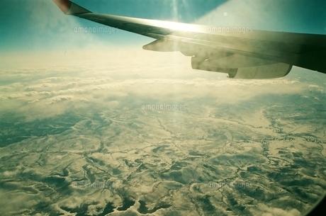 飛行機からの地球の素材 [FYI00231646]