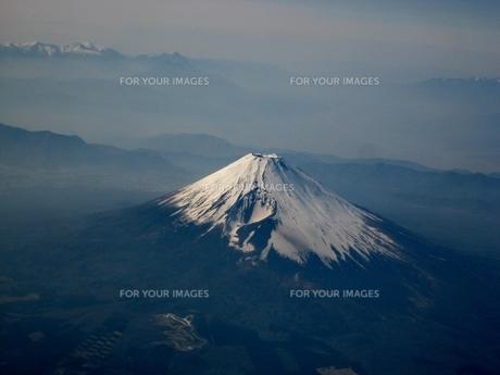 上空からの富士山の素材 [FYI00231662]