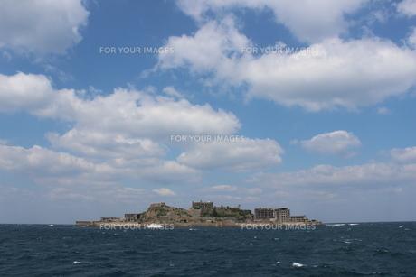 軍艦島の素材 [FYI00231671]