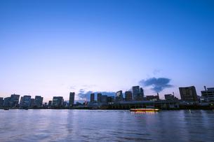 東京ベイエリア夕景の写真素材 [FYI00231964]