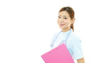 笑顔の看護師の素材 [FYI00232030]