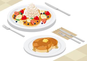 パンケーキの写真素材 [FYI00232345]