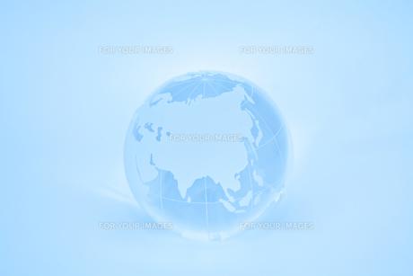 ガラスの地球儀の素材 [FYI00232456]