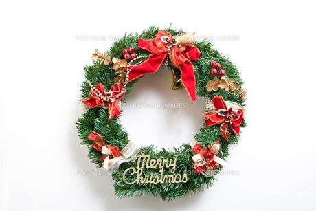 クリスマスリースの写真素材 [FYI00232457]