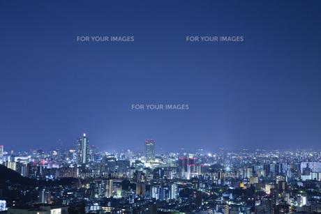 都市の夜景の素材 [FYI00232555]