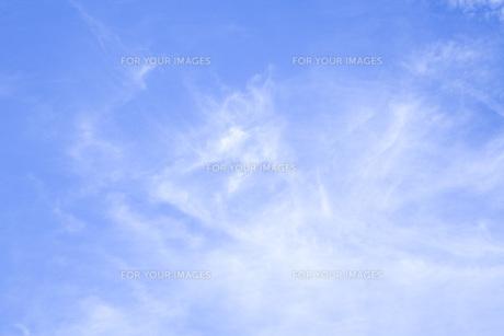 青空の背景素材の素材 [FYI00232567]
