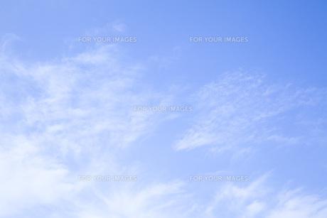 青空の背景素材の素材 [FYI00232569]