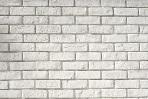 白煉瓦の壁の写真素材 [FYI00232590]