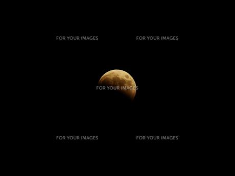 皆既月食の写真素材 [FYI00233054]