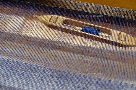 織り作業の写真素材 [FYI00233496]