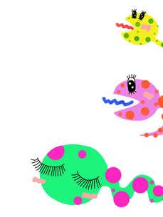 カラフル蛇の写真素材 [FYI00234032]