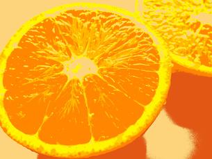 カットオレンジの写真素材 [FYI00234043]