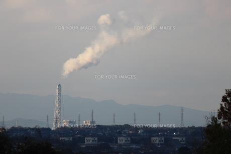 工場の煙の素材 [FYI00234235]