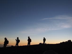 登山チームの写真素材 [FYI00235138]
