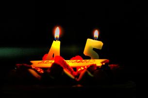 Birthday 45...の写真素材 [FYI00235392]