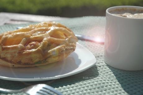 Breakfast...の写真素材 [FYI00235396]