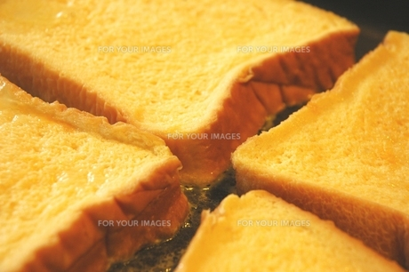 French toast...の写真素材 [FYI00235408]