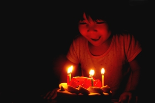 Happy Birthday ?の写真素材 [FYI00235422]