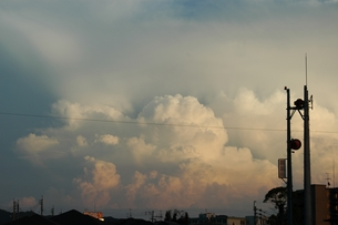 The clouds of gradation...の写真素材 [FYI00235426]