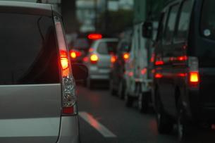 渋滞…の写真素材 [FYI00235462]