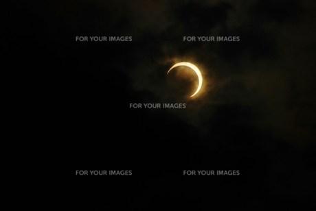 金環日食の写真素材 [FYI00235747]