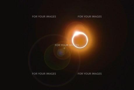 金環日食の写真素材 [FYI00235758]