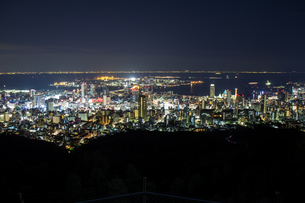 神戸 夜景の写真素材 [FYI00236705]