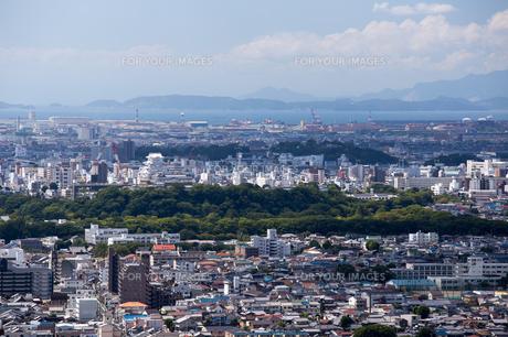 姫路市街地の風景の写真素材 [FYI00236742]