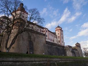 ドイツ ヴュルツブルク マリエンベルク要塞の写真素材 [FYI00236768]