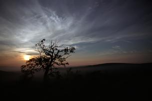 北海道 トムラウシ山夕景の写真素材 [FYI00236771]
