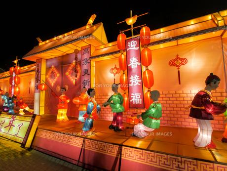 シンガポール春節祭の写真素材 [FYI00236779]