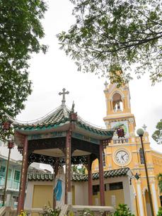 ベトナム ホーチミン・チョロン地区 聖フランシスコザビエル教会(チャータム教会)の写真素材 [FYI00236806]