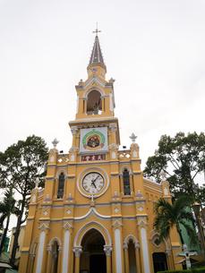 ベトナム ホーチミン・チョロン地区 聖フランシスコザビエル教会(チャータム教会)の写真素材 [FYI00236811]